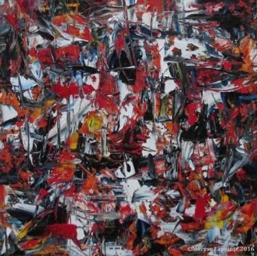 "Saatchi Art Artist Maryse Lapointe; Painting, ""e = m + l ² - 2016"" #art"