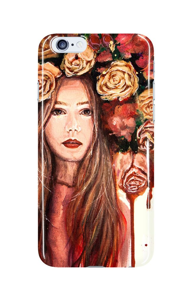 Roses Are Red - Phone Case  Made out of a polycromate plastic. Each printed case weighs less than 1oz.   Matte vs Glossy: The matte finish comes out soft and muted. The glossy finish is vivid and shiny.   You can choose different phone model cases: iPhone 5, iPhone 6, iPhone 6+, Note 3, Note 4, Galaxy S4, Galaxy S5,