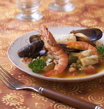 Zarzuela (poisson à la catalane) - les meilleures recettes de cuisine d'Ôdélices