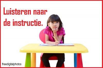 Sommige kinderen hebben geen gehoorproblemen, maar toch merk je in de klas dat het kind de mondelinge instructies niet goed oppikt.