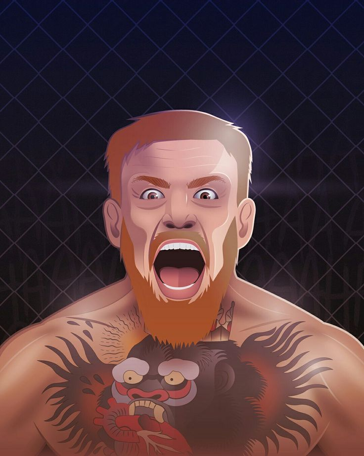 Just another day at the office for @thenotoriousmma  HAD to do his portrait after his exciting win over Nate Diaz last night! Awesome fighter & athlete ✊  #crazysumbitch #ufc202 #ufc #conormcgregor #mcgregor #mcgregorvsdiaz #thenotoriousmma #maclife #fighter #athlete #athleteoftheday #mma #portrait #illustration #sportsillustration #vectorillustration #vector #conceptart