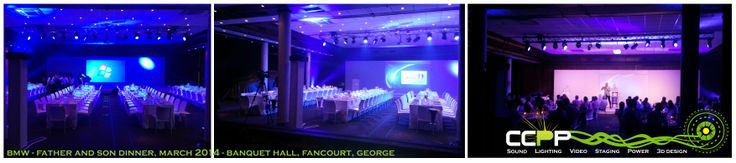 Another small event at Fancourt Hotel, George.