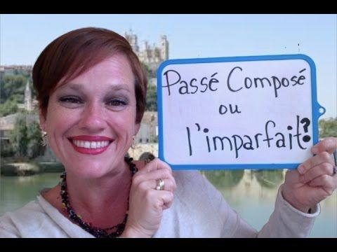 Learn French Online:  How to use the Passé Composé and Imparfait together