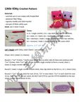 Colorful Kitty Cat Toy pattern by DDs Crochet