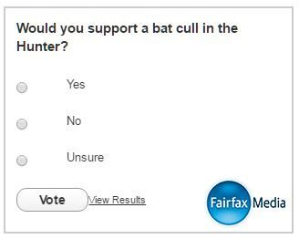 Hunter bat plague: firefighters extinguish suspicious blaze at Cessnock bat camp please check that you have voted. thanks. http://www.theherald.com.au/story/3921118/somebody-has-tried-to-burn-the-bats-photos-video-poll/