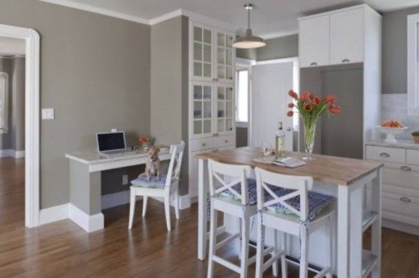 Selecting The Best Gray And White Paint Kitchen Benjamin More Gray - Gray paint for kitchen