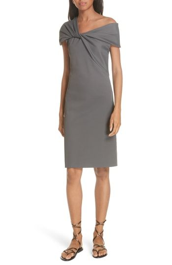 New Helmut Lang Twist Neck Ribbed Dress online shopping in 2018 ... a1783bfdc