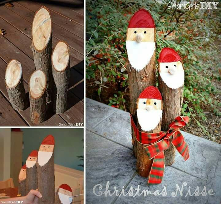 I wonder if my Grands would make me these fellas for Christmas? They'd look cute sitting in my front porch!