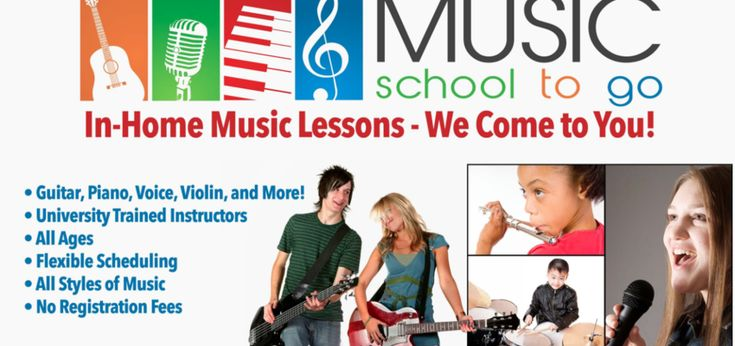 Four private in-home #voice lessons with a professional instructor #WTpack #classes #lessons