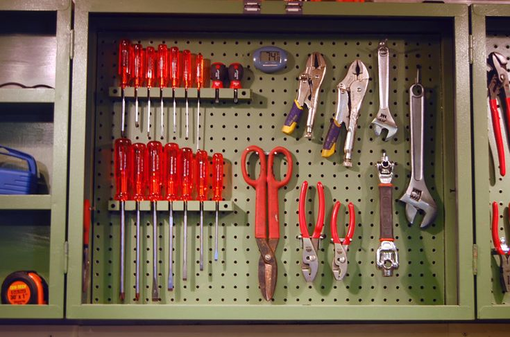Screwdriver Storage Idea What About Drilling Holes At