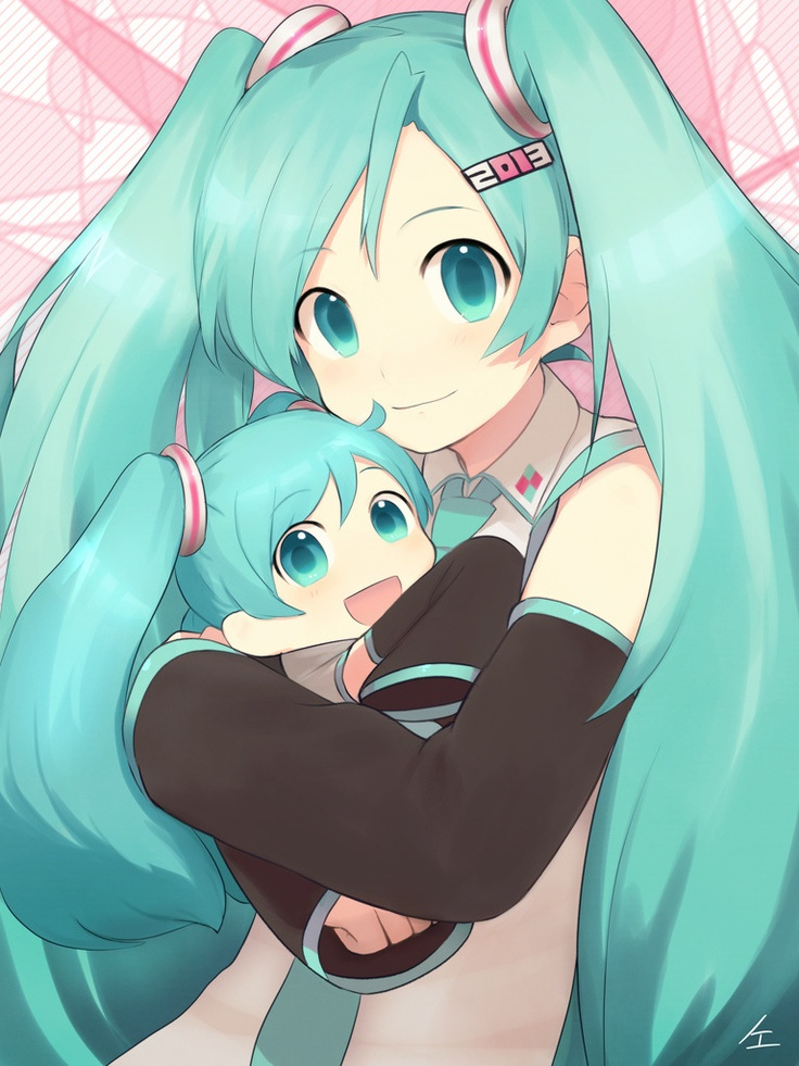 101 best images about anime on pinterest cute anime guys - Cute anime miku ...