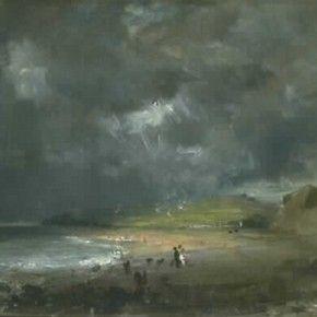 'Weymouth Bay' by John Constable, 1816, Museum no. 330-1888