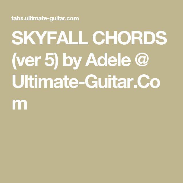 SKYFALL-ADELE(Ukulele-Solo) - YouTube | Ukulele | Pinterest ...