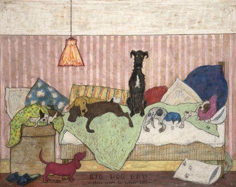 Big Dog Bed | Sam Toft.