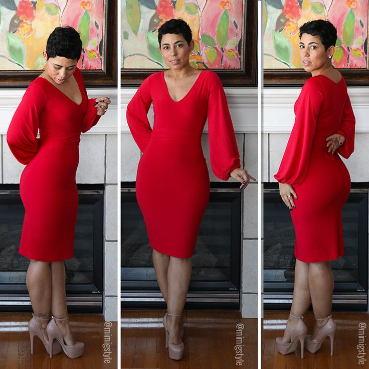 NEW TUTORIAL!!! Red Hot Dress - Mimi G Style