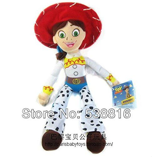 Free Shipping Cute High Quality Soft Plush Toy Story 3 JESSIE Plush Doll Soft Toy 16 New Retail @ niftywarehouse.com #NiftyWarehouse #Toy #Story #Movie #ToyStory #Pixar