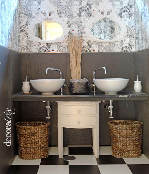 Gabinetes Para Baño Cali:Pin by Angeles Samper on Un baño vintage – A vintage bathroom