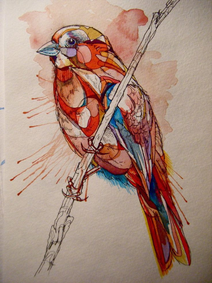 watercolor? copic? pen and ink. awesome.
