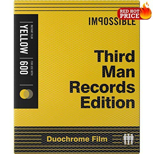#deals #Impossible Black & Yellow Instant Film for Polaroid 600-type and One600 cameras features a newly developed emulsion that boasts incredible black and yell...