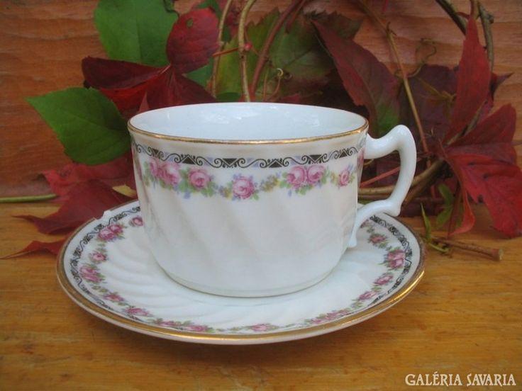 Zsolnay antik teáscsésze és alj /// ilyen biztosan van a te nagyidnak is!