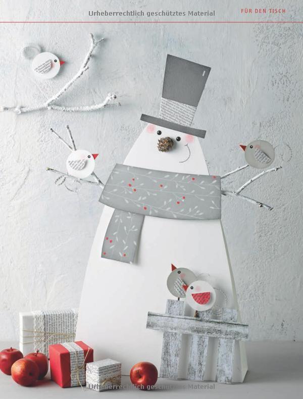 Niedliche Weihnachtsboten kreativ.kompakt. : Dekorationen und Geschenke aus Papier: Amazon.de: Pia Pedevilla: Bücher