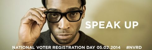 Tinie Tempah backs National Voter Registration Day, 2 February 2014