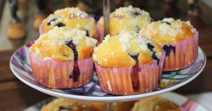 Un cestino di ciliege: Blueberry Streusel Muffins
