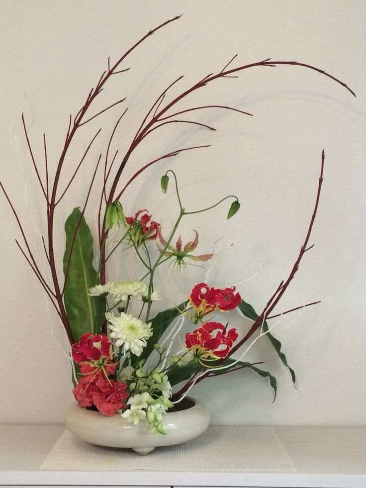 Ikebana for new year