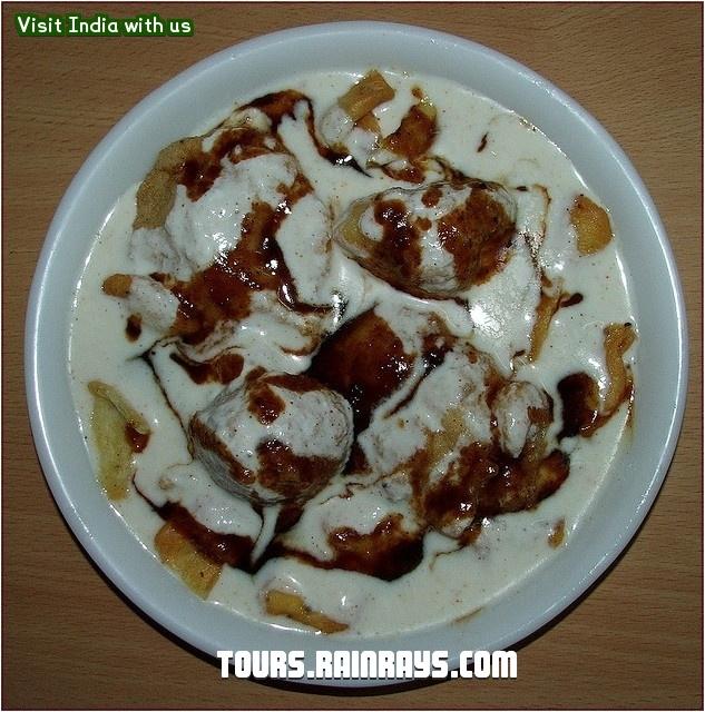 Indian Food : Dhai Bhalla