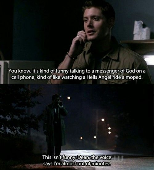 Funny Castiel Quotes: Dashboard / Inspiration