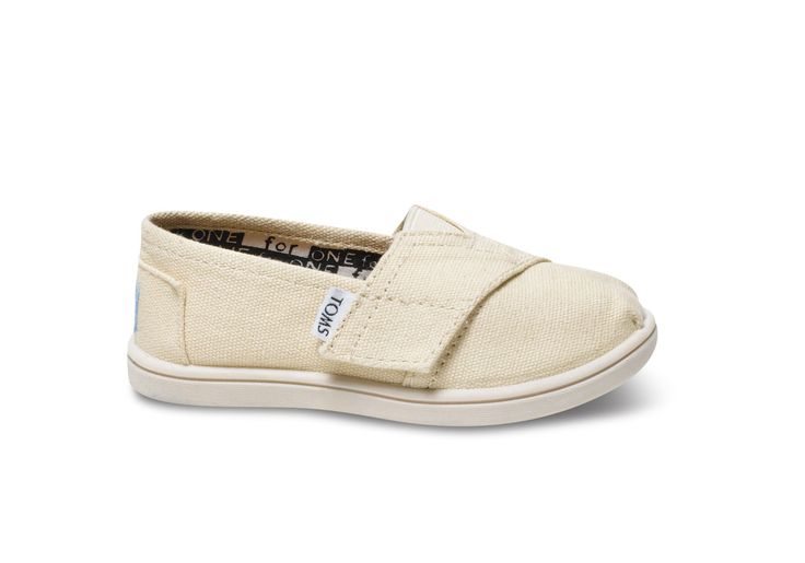 undefined Natural Canvas Tiny TOMS Classics
