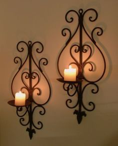 Wall Candle Decor 19 best iron wall decorative for home decor images on pinterest