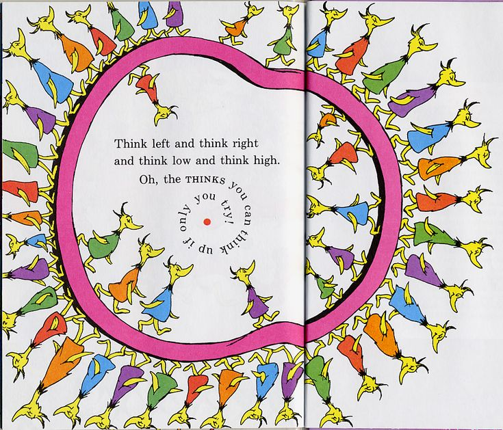 Dr. Seuss, from Oh, the Thinks You Can Think! (1975)