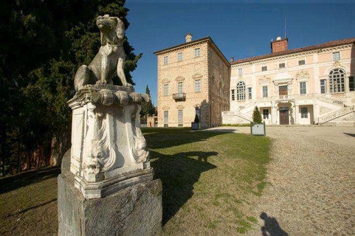 Castello di Govone. Castle of Govone, in the Roero wine region of Piemonte, Italy
