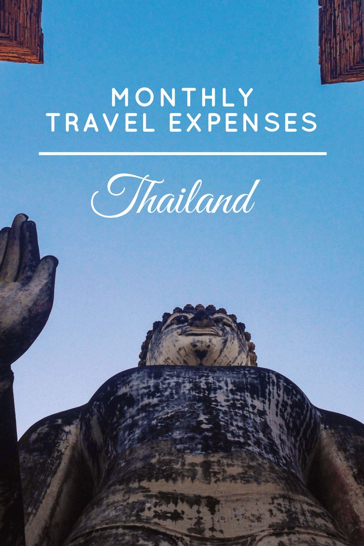 Monthly Travel Expenses - Thailand