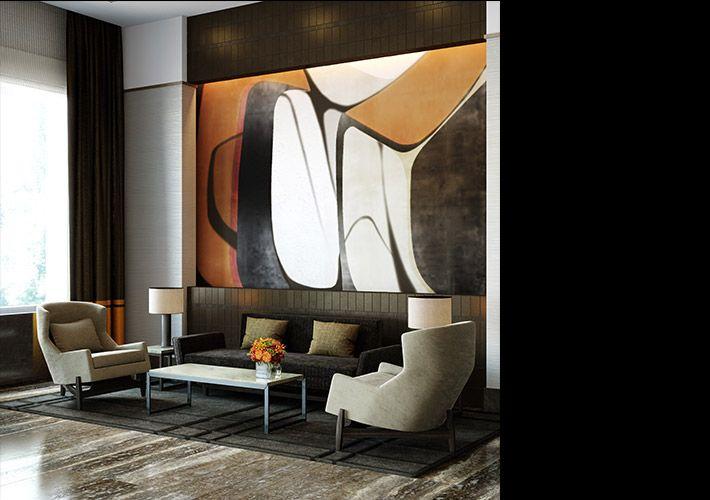 OneRiversidePark.com | Extell Development Company : residential : One Riverside Park : Lobby