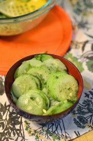Vanishing Veggie: Arbonne Detox Day 8, Cucumber Salad