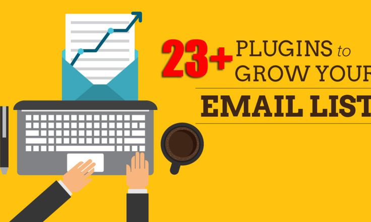 Top 21  WordPress Plugins to Get More Email Subscribers