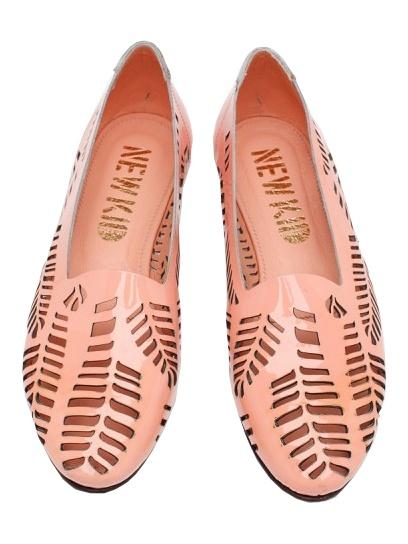 NEW KID lasercut loafers