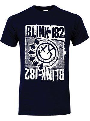 T-Shirt Blink 182 Euro Deck disponible sur www.grindstore.com.