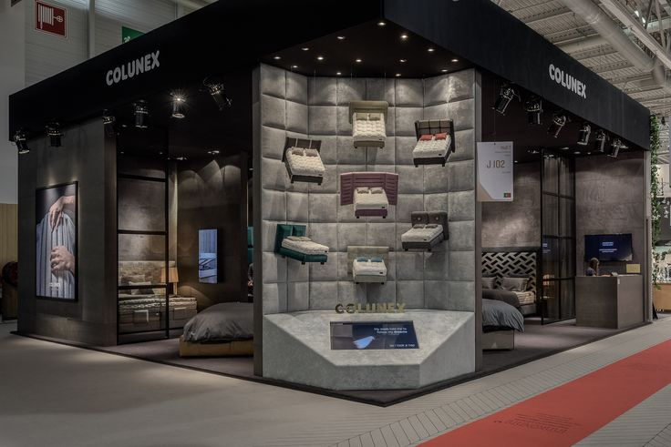 Miniature beds exhibition by Colunex @ Paris - Maison et Objet Jan. 2017