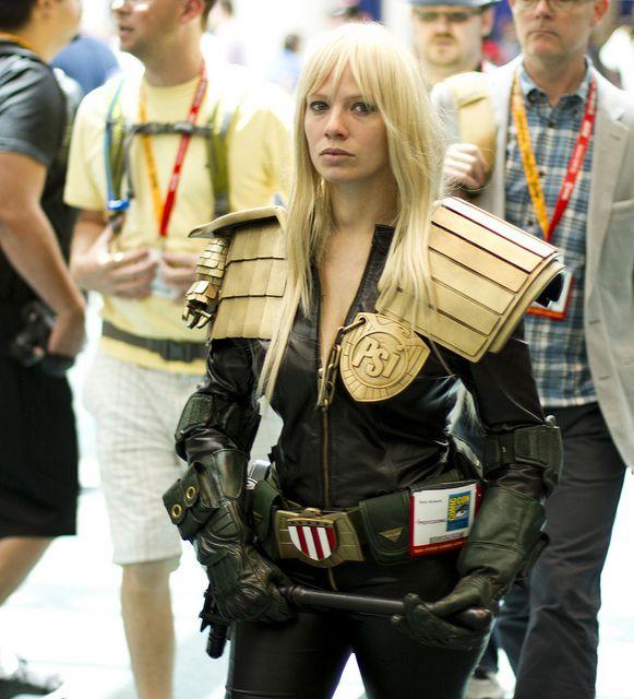 Judge Cassandra Anderson DREDD cosplay