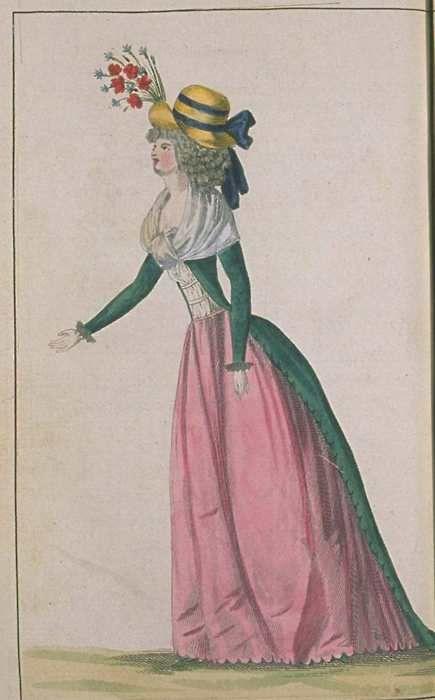 Journal de la Mode et du Gout, August 1790.