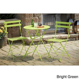 Cosco 3-piece Folding Bistro Set | Overstock.com Shopping - Big Discounts on Cosco Bistro Sets