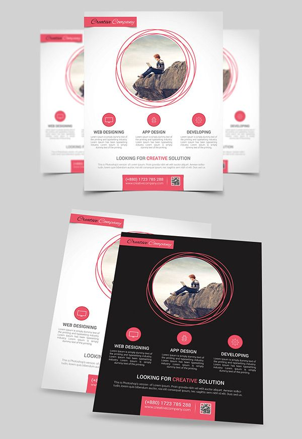 100+ 63 Inspirational Flyer Designs And Tutorials Designbump - psd brochure design inspiration