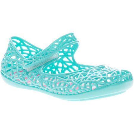 Toddler Girls' Casual Jelly Mary Jane Shoe, Toddler Girl's, Size: 11, Green