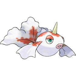 I must say that Goldeen is my number 1 favorite. I have always loved it regardless of how weak it can be.
