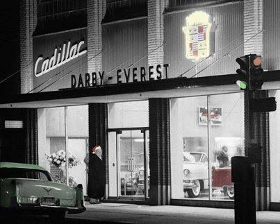 Darby Everest Cadillac Oklahoma City 1955 Vintage Car