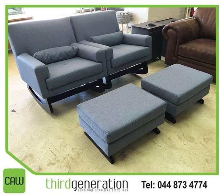 These lovely and comfortable sofas at #ThirdGenerationCAW is perfect for a cosy family room. Visit us in store or contact us on 044 873 4774. #Lifestyle