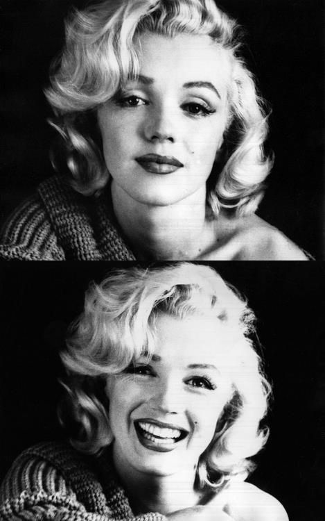 I love Marilyn! I especially love these two photographs of her. You get to see how beautiful and childlike she was, but how sad she was too.